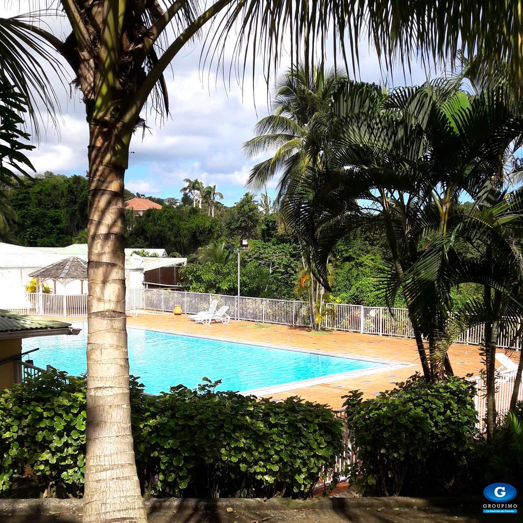 Villa T3 avec piscine et plage domaine ANSE AZEROT, Ste Marie