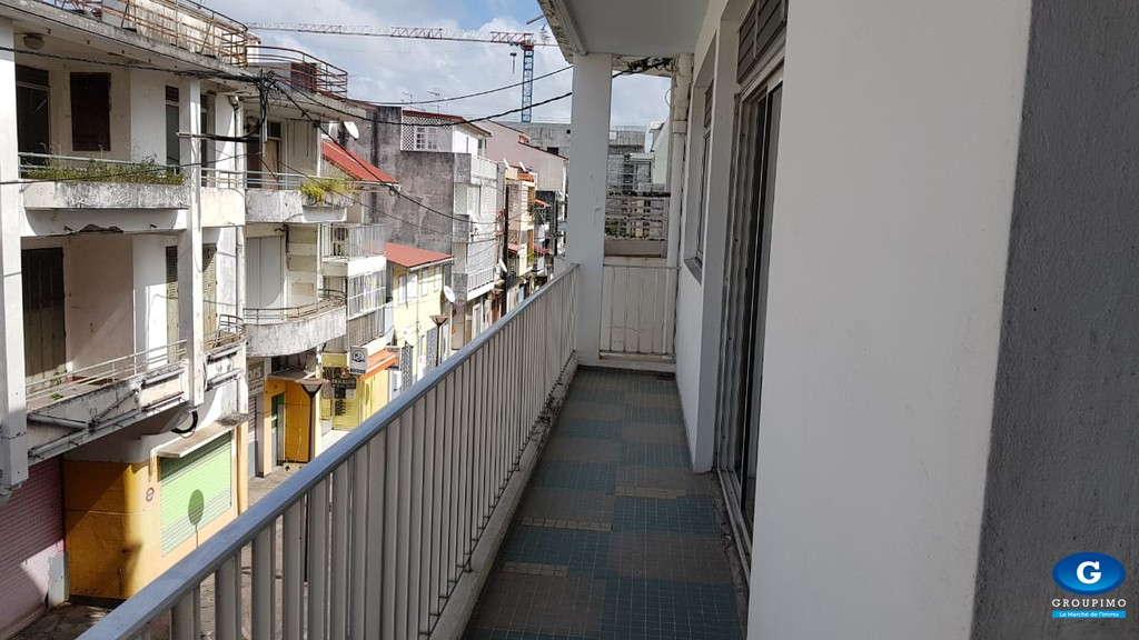 Un appartement rue bebian 3 pièces pointe à pitre