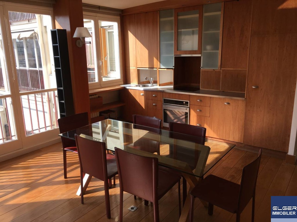 3 FURNISHED ROOMS avenue Emile Zola METRO CHARLES MICHELS