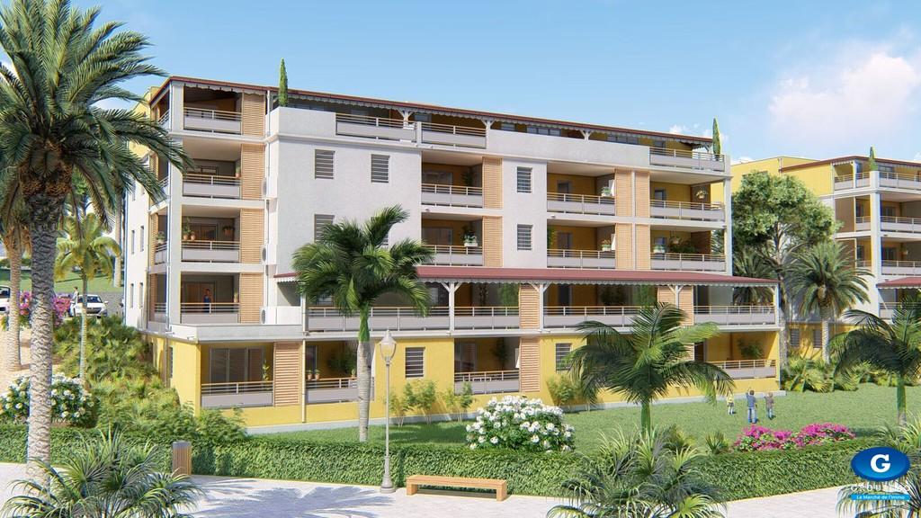 5 Appartements neufs de type T3 - Gondeau - Saint Joseph