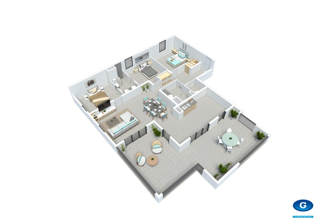 8 Appartements neufs de type T4 - Gondeau - Saint Joseph