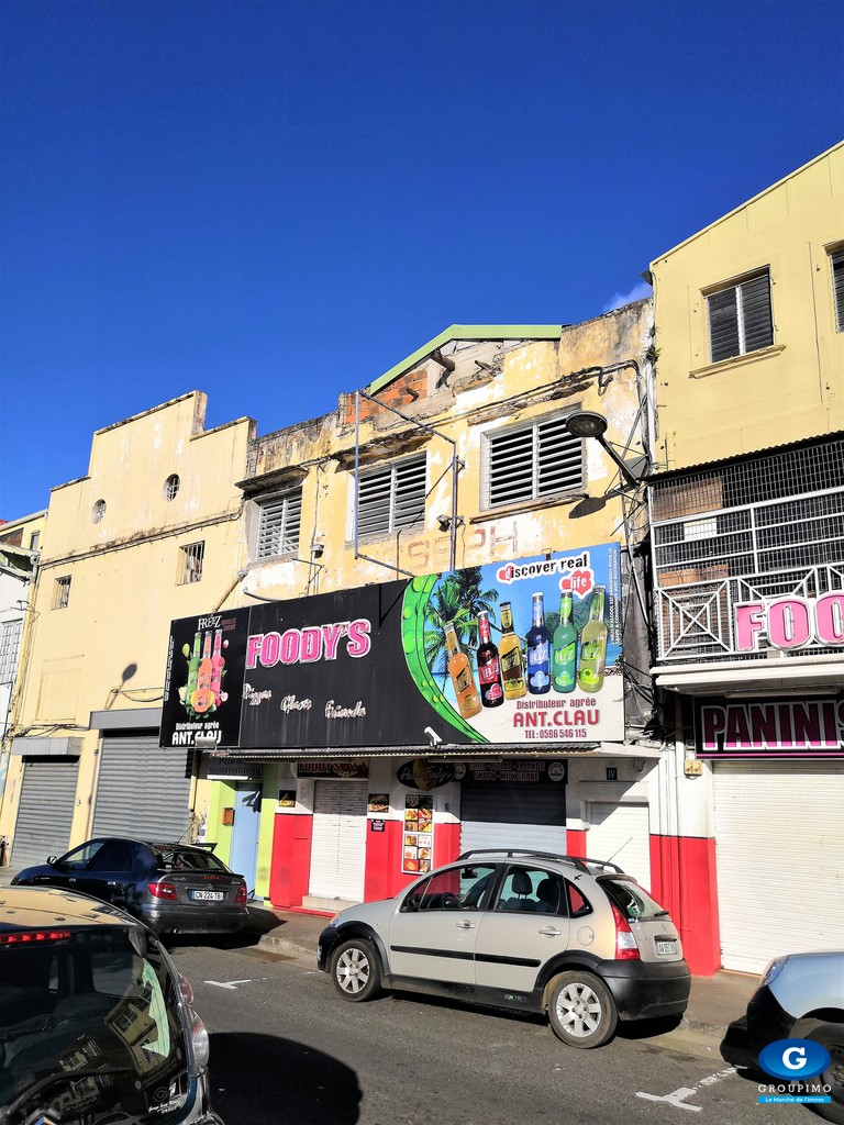 Local Commercial - Centre Ville - Fort de France - 360m²