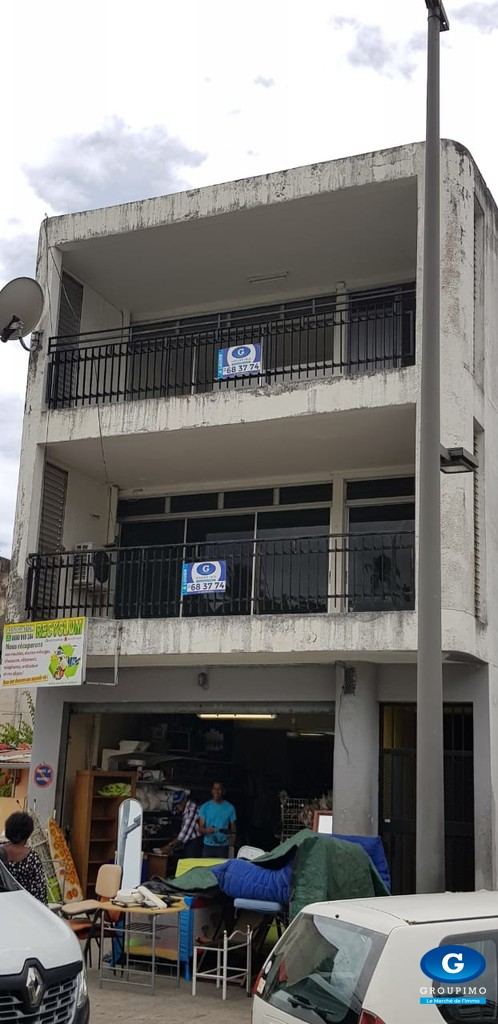 Grand Appartement 3 pieces, rue de l'assainissement à POINTE A PITRE