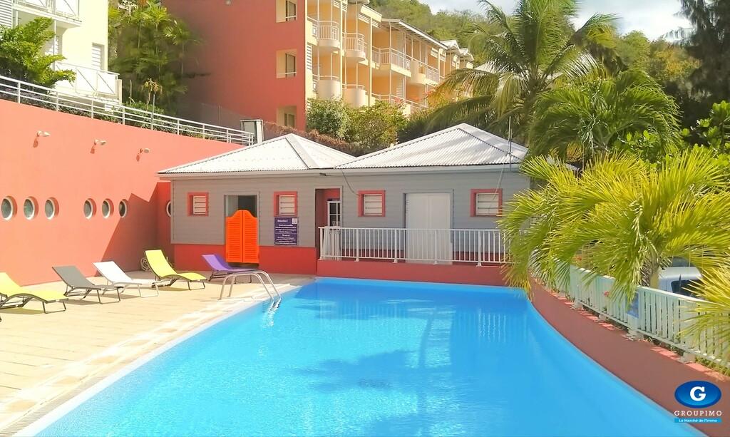 Appartement N° 269 sis Rés. de La Baie Lot Distillerie Tartane Trinité 1 pièce