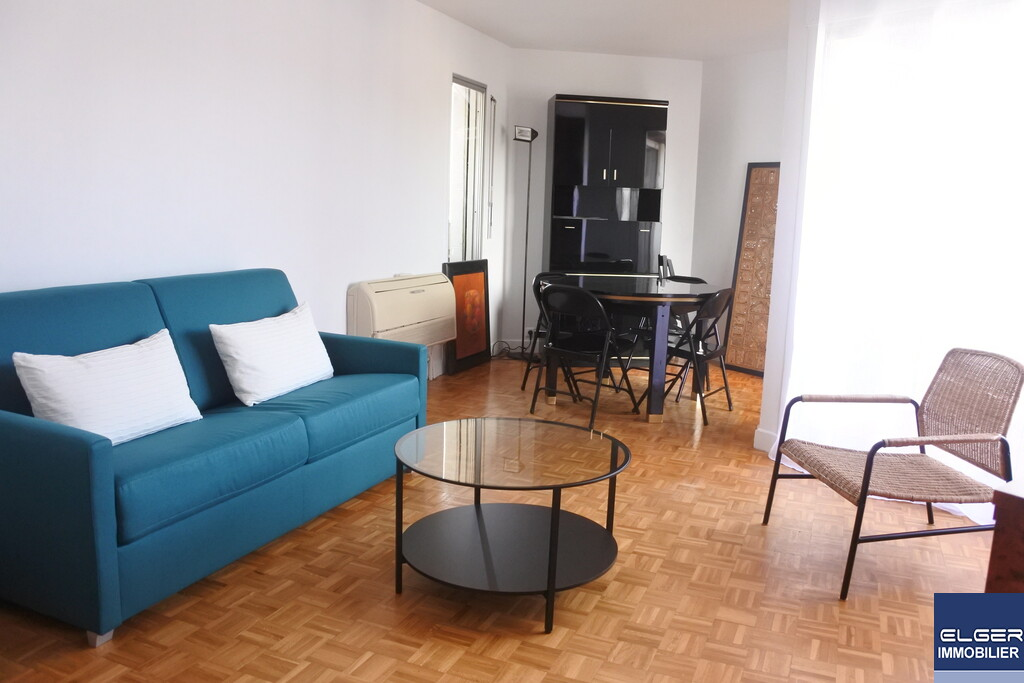 3 FURNISHED ROOMS with TERRACE rue Montbrun Metro ALESIA