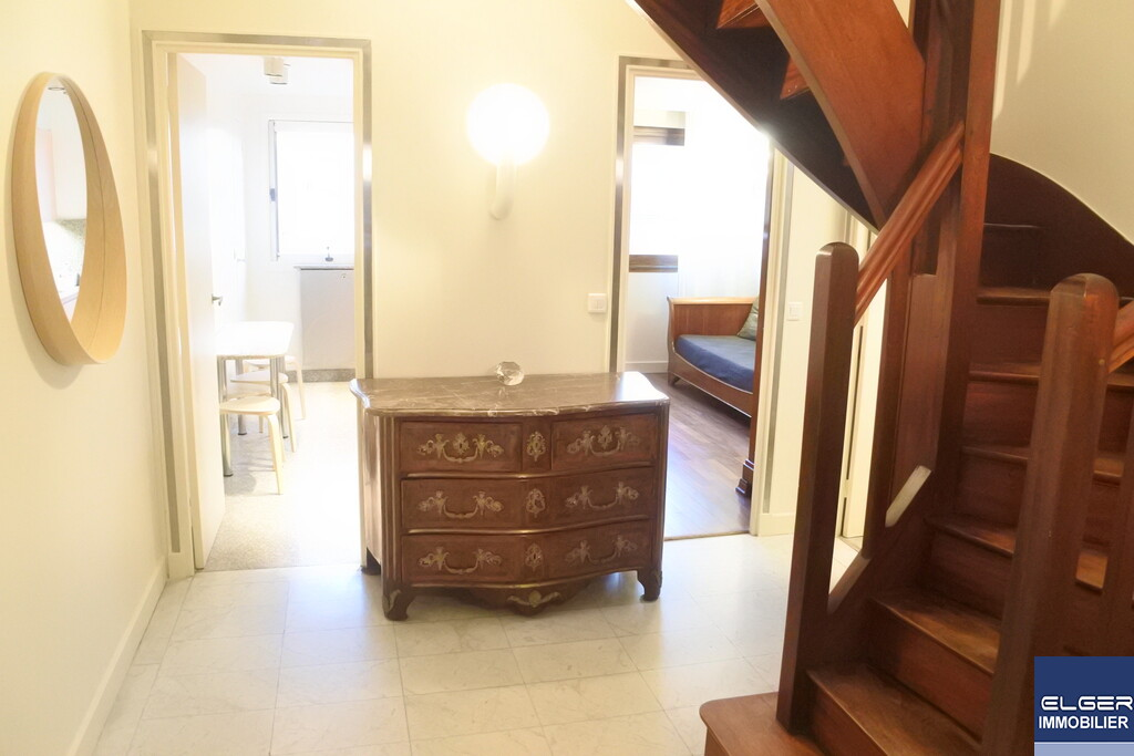 4 FURNISHED ROOMS DUPLEX WITH TERRACES rue Théodore Deck Métro CONVENTION