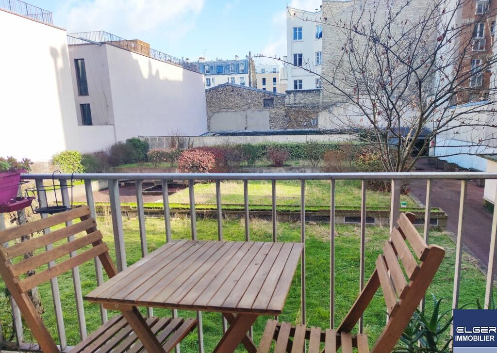CHARMANT STUDIO rue Auger PANTIN Métro HOCHE