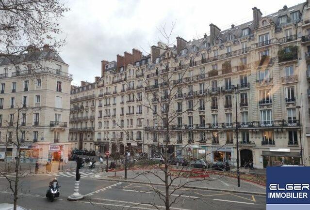 MAGNIFIQUE GRAND DEUX/ TROIS PIECES MEUBLEES HAUSSMANNIEN avenue de Villiers Métro PEREIRE
