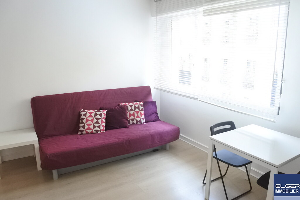 FURNISHED STUDIO rue de l'Yvette Métro JASMIN