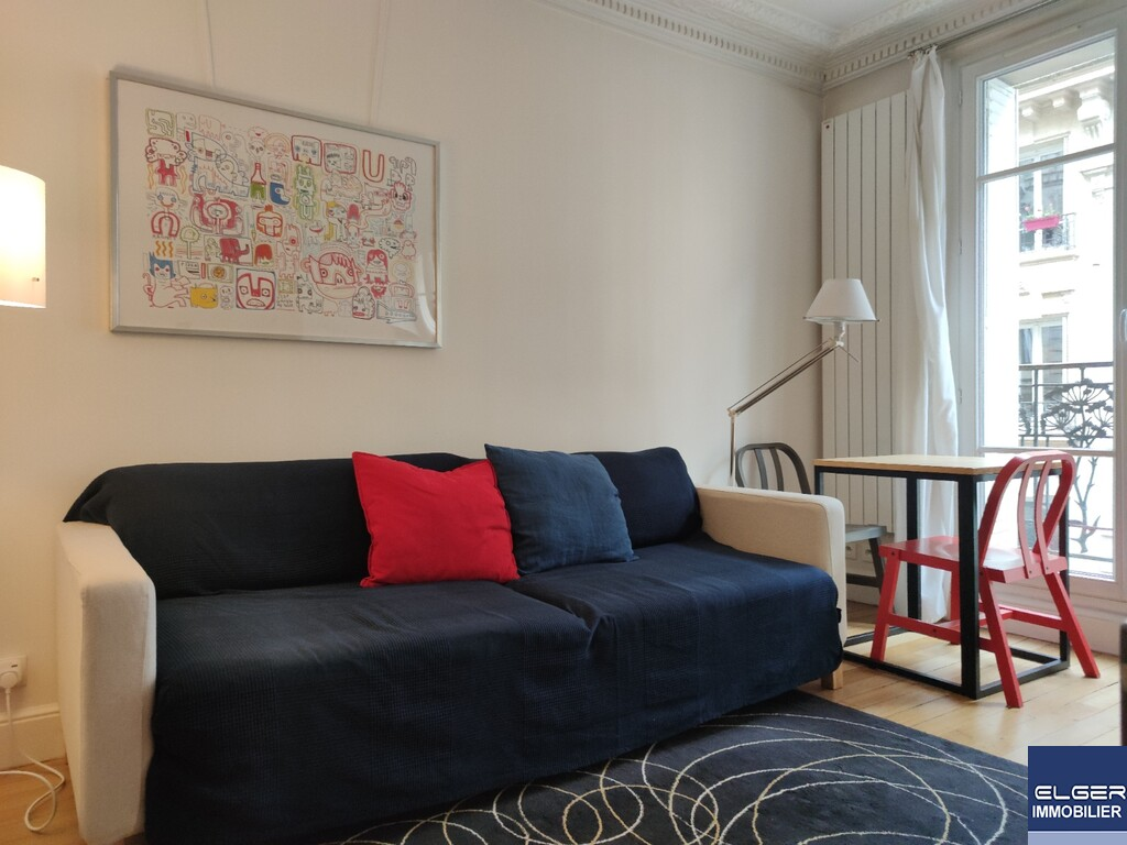 TWO FURNISHED ROOMS rue Ferdinand Fabre Metro CONVENTION