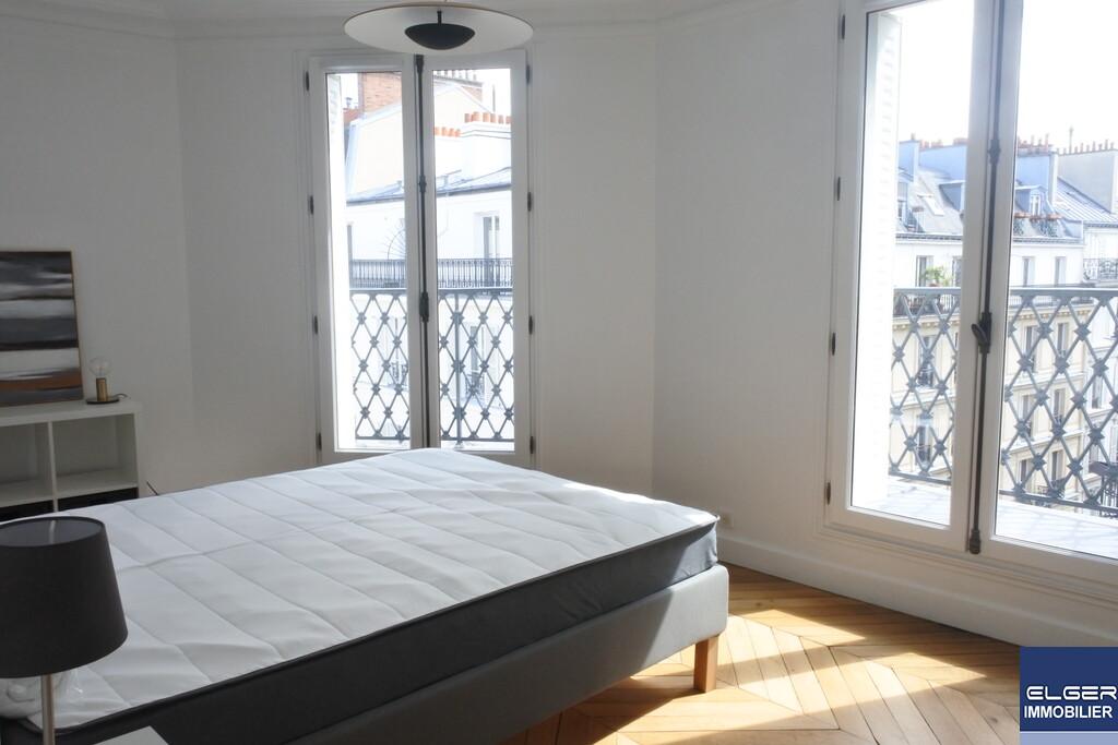3 FURNISHED ROOMS rue Legendre Métro PONT CARDINET